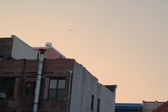 plane over my 'hood
