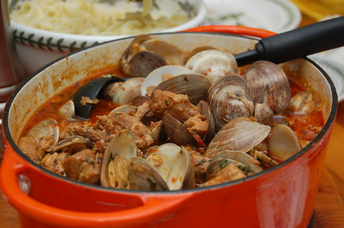 Braised Pork with Clams, Mariner's Style (Portugal)