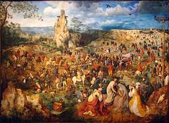 The Procession to Calvary 1564 (Mr. History) Tags: vienna austria artist painter kunsthistorischesmuseum bruegel pieterbruegeltheelder netherlandish museumofarthistory artgalleryandmuseums