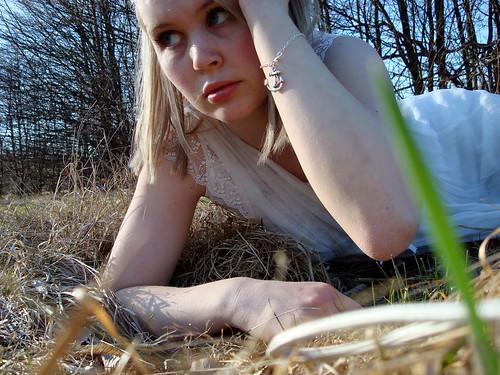 Lie in the grass 04