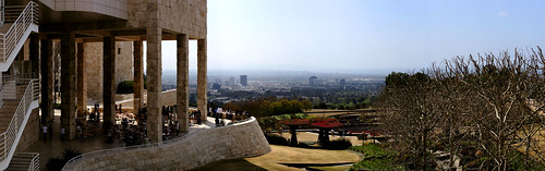 Getty Center Garden Cafe