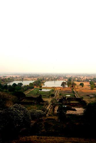 78.俯瞰Wat Phu Champasak及平原