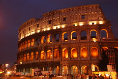 Colosseo alla notte (Sarah Peters Photography) Tags: rome architecture night ancient roman arches colosseum colosseo challengeyouwinner