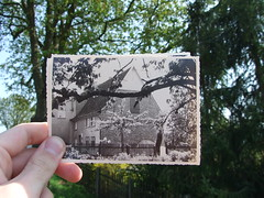Looking Into the Past: Home (S!nky) Tags: house green history home looking hometown haus historic past 2009 pictureinpicture pnp timeandspace