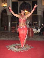 Belly dancer, Al-Fassiya Restaurant, Fez, Morocco (ali eminov) Tags: fez medina restaurants alfassiyarestaurant dancers bellydancer morocco fes maroc