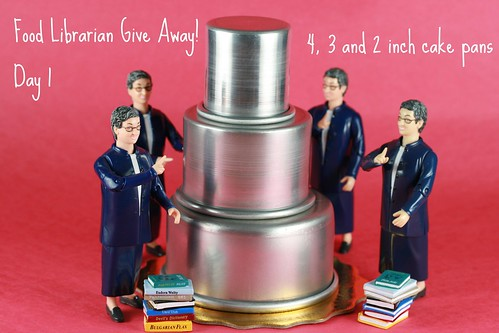 Food Librarian - 3 Tier Cake Set Giveaway