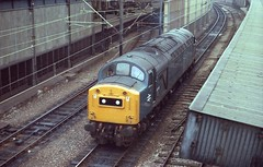 Childhood favourite - EE type 4. (Renown) Tags: station br cheshire diesel trains crewe locomotive railways britishrail railroads englishelectric dieselelectric class40 1coco1