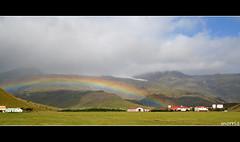 under the Rainbow (snorri.s) Tags: summer sun nature clouds canon iceland rainbow theperfectphotographer absolutelystunningscapes snorris beyep