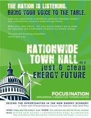 Focus the Nation: Seizing the Opportunities of the New Energy Economy