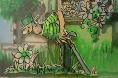 TGiF! MR GReeN SMeLLS THe WeeKeND (Sashs Kitchen-Studio Photography) Tags: sun green garden painting fun switzerland mr weekend explore sascha 100 really frontpage willi rueb waldner supershot 50faves insashi rb platinumphoto aplusphoto diamondclassphotographer flickrdiamond citrit theunforgettablepictures betterthangood obq artofimages thispaintingisfrommyfriendswissartistwilliwaldner thankyouallthismakesmeproudtoseeonthefp realfrontpage allrightreservedsascharueb allrightsreservedsascharueb sashskitchenstudiophotography