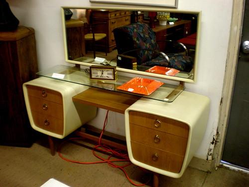 The Atomic Powered Bedroom Dresser