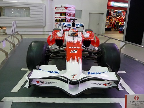Toyota TF-109 F1 show car