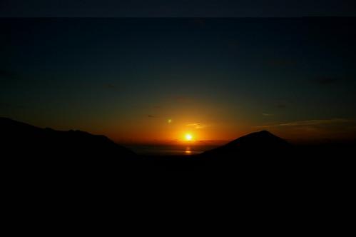 Pôr do Sol-Norte-Santa Maria Island-Azores