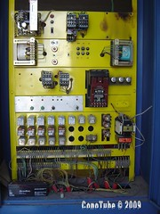 Partly electronic elevator controller (ConoTube) Tags: elevator electronic controller partly conotube