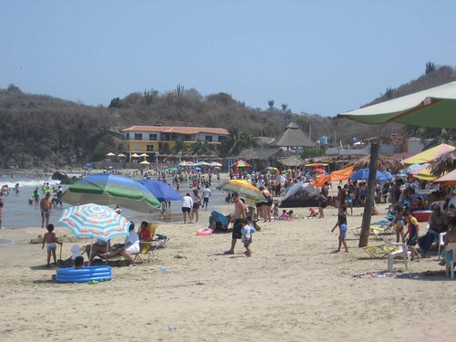 Tenacatita Beach, May 2, 2009