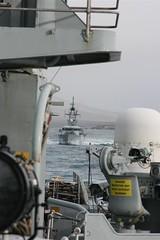 HMS Clyde getting closer (Donald Morrison) Tags: destroyer batch3 royalnavy busybee hmsmanchester type42destroyer hmsclyde d95 5thdestroyersquadron vickersshipbuildingandengineering