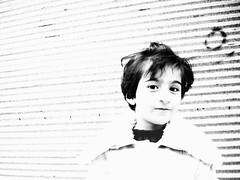 Little Fery (فری کوچولو) (Nasser Hasani) Tags: portrait bw hat angel kide کودک کلاه سیاهسفید فرشته