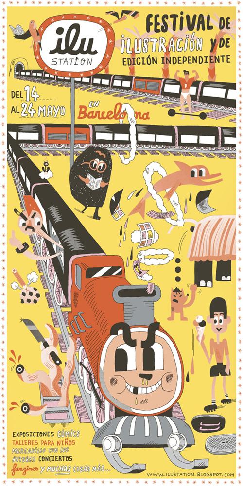 ILU*station: Festival de ilustración y edición independiente (Barcelona)