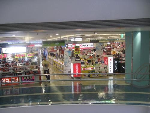 Electronics Market in Yongsan, Seoul, Korea