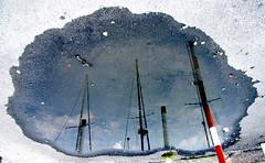 Del giorno dopo la pioggia - 9 (Eus) Tags: italien italy water puddle boats eau wasser italia barche acqua grado italie gorizia flaque barques pftze pozzanghera friuliveneziagiulia