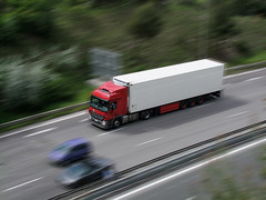Mercedez (snap51) Tags: france truck mercedes nice cotedazur fuji motorway lorry camion autoroute a8 europeantruck effetfil s100fs