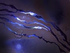 Clay Lightning.. (Sea Moon) Tags: purple mud clay lightning discharge dendrites