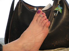 Toes in Motion (Nice Feetures) Tags: foot toes toering