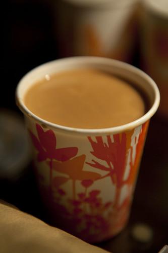 Lan Fong's HK-style milk tea