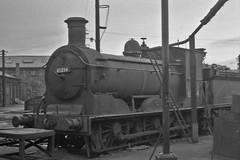 65234 St Margarets 10 Jan 1965 (pondhopper1) Tags: blackandwhite white black steam railways uksteam