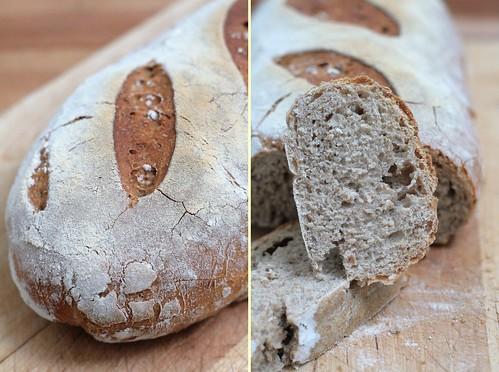Croute & mie de pain de campagne