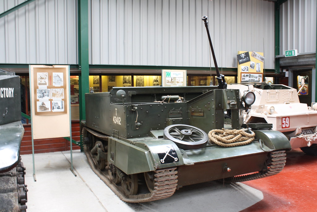 universal carrier with the Boys light anti tank gun
