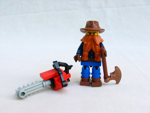 Woodsman custom minifig