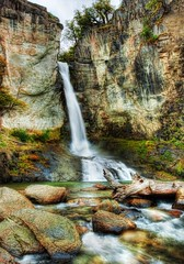 A cool waterfall to relax at during the hike, and a new Newsletter!