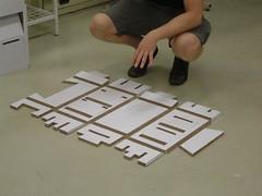 X-Board Flat-Packed Display