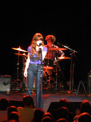 Jenny Lewis at the Roseland (Awkward Boy Hero) Tags: rock oregon portland northwest roseland jennylewis acidtongue awkwardboyhero