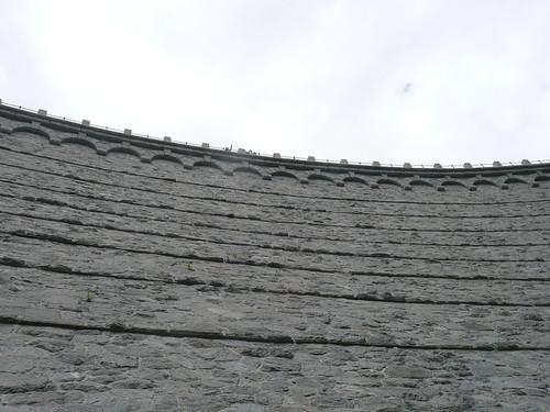 Dam vanaf beneden