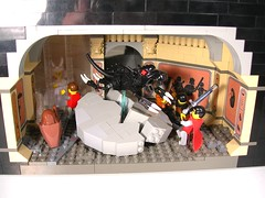 Second Battle of Beruna: Aslan's How (SlyOwl) Tags: castle classic lego contest narnia caspian battles beruna