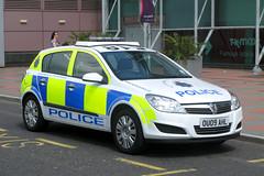 Hertfordshire Police OU09AHL (Howard_Pulling) Tags: uk car police policecar hatfield hertfordshire vauxhall vauxhallastra thegalleria hertfordshirepolice hatfieldpolice