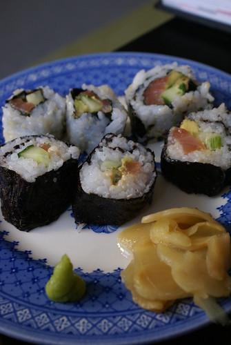 Sloppy sushi