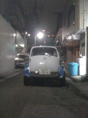 My isetta in Tokyo Japan【June.17.2009】