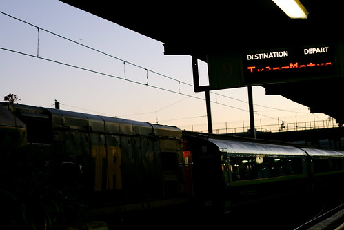 Friday: Dawn at the Train Station