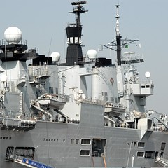 HMS Illustrious (Final Approach) Tags: uk england nikon ship navy portsmouth aircraftcarrier illustrious warship 2007 dx hms dockyard nikond200 18200mmf3556gvr afsnikkor18200mm13556ged