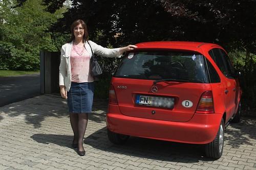 Neben meinem Auto
