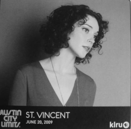 St. Vincent Program by you.