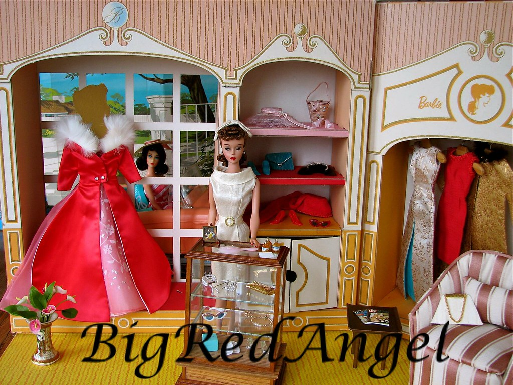 Vintage Barbie Fashion Shop