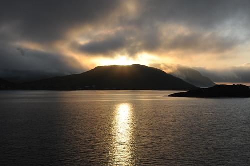 Midnight sun @ Lofoten, Norway