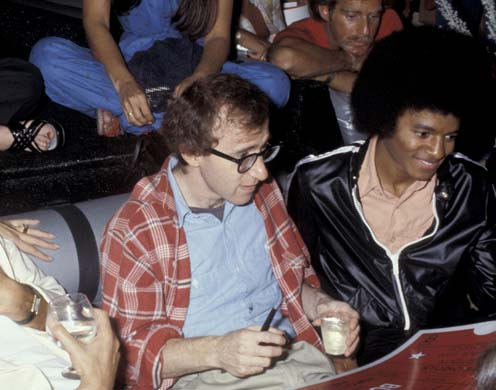 michael jackson and woody allen