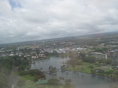 Hilo just before landing