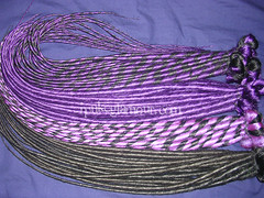 A purple dread kit (ipukeglamour) Tags: single ended end purple black cyber goth raver rave hair falls extensions dread dreads synthetic ipukeglamour ipukeglamourcom isellglamourcom cyberlox club alternative style
