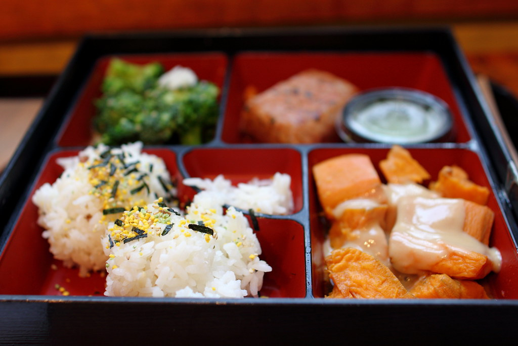 Tuna Bento from Teaism by Mr.TinDC, on Flickr